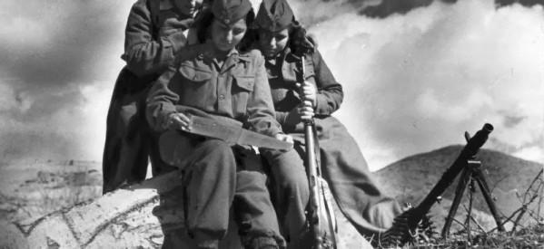 Προβολή ιστορικού ντοκιμαντέρ για τα 70 χρόνια  του Δημοκρατικό Στρατό Ελλάδας  από το ΚΚΕ στα Τρίκαλα