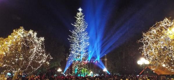 Υποδοχή του νέου χρόνου στην κεντρική πλατεία