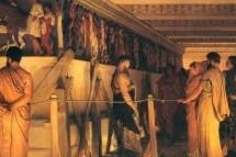 Μια ημέρα από τη ζωή ενός αρχαίου Αθηναίου και μιας Αθηναίας.