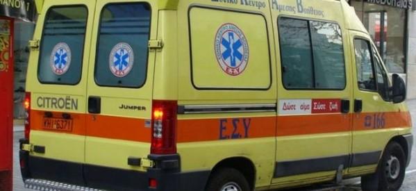 Νεκρός 70χρονος σε τροχαίο στον Τύρναβο