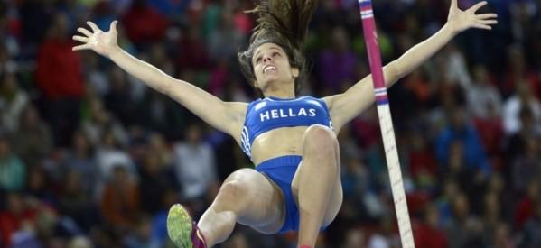 Η «χρυσή» Κατερίνα Στεφανίδη πέταξε στα 4.85 και σήκωσε την Ελλάδα στα ουράνια