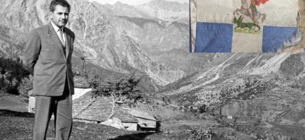 Ιστορία ζωής και μάθημα πατριωτισμού – Ο Τρικαλινός Νίκος Λεοντάρης και η σημαία του 5ου ΣΠ Τρικάλων :