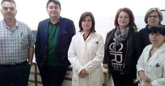 Επισκέψεις Βασίλη Αναγνωστόπουλου στα Κέντρα Υγείας Πύλης και Καλαμπάκας