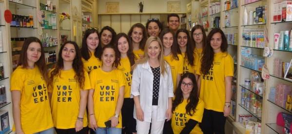 Οι μαθητές του 8ου Λυκείου Τρικάλων για την ενίσχυση του κοινωνικού φαρμακείου