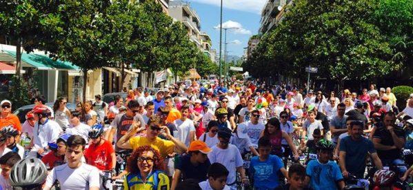 Τρίκαλα – Ρεκόρ συμμετοχών στον  ποδηλατικό γύρο «Βασίλης Τσαρουχάς»