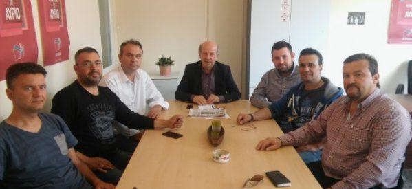 Με τους εκπαιδευτές οδηγών ο Χ. Σιμορέλης