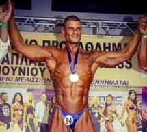 Ο Τρικαλινός στρατιωτικός Γιώργος Μαργαρίτης πρωταθλητής στο Bodybuilding