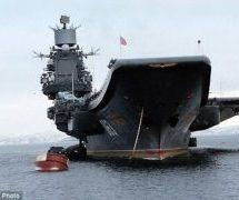 Η Ρωσική αρκούδα βρυχάται άγρια και στέλνει το μεγαλύτερο της πλοίο να ισοπεδώσει τον ISIS (Photos)