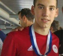 Χρυσό μετάλλιο για τρικαλινό κολυμβητή Nίκο Δρόσο