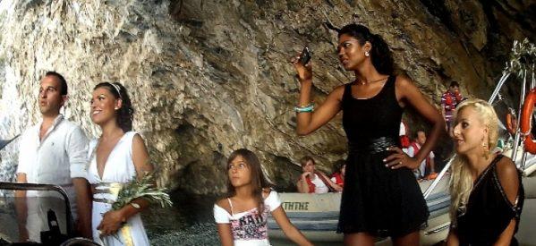 Γάμοι στις θαλάσσιες σπηλιές του Βένετου- Το νέο τουριστικό προϊόν στην Θεσσαλία