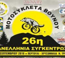 Ασπροπόταμος–26η πανελλήνια συγκέντρωση μοτοσυκλέτας βουνού
