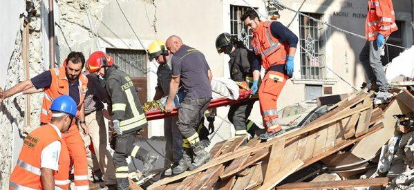 Φονικός σεισμός στην Ιταλία – Απεγκλωβίστηκαν από τα συντρίμμια τρία μικρά αδέρφια