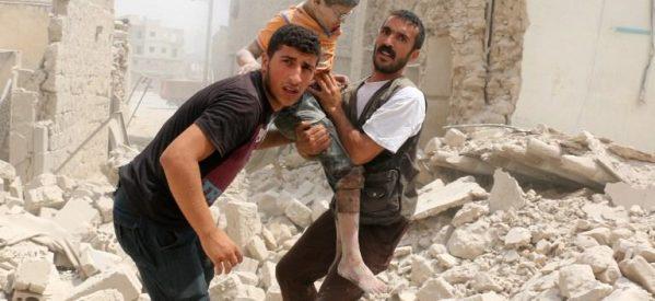 Εικόνες φρίκης στη Συρία – Τουλάχιστον 11 παιδιά νεκρά σε αεροπορική επιδρομή