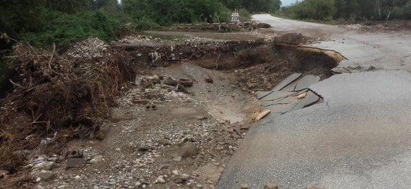 1,6 εκατ.ευρώ για αποκατάσταση ζημιών στο οδικό δίκτυο των Τρικάλων