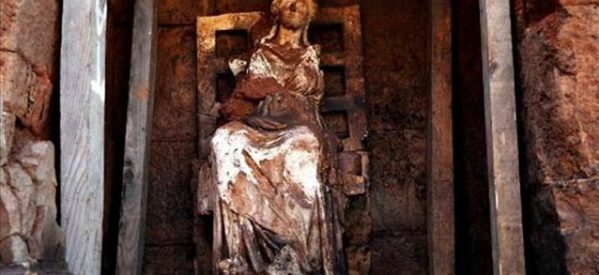 Άγαλμα της θεάς Κυβέλης έφερε στο φως η αρχαιολογική σκαπάνη