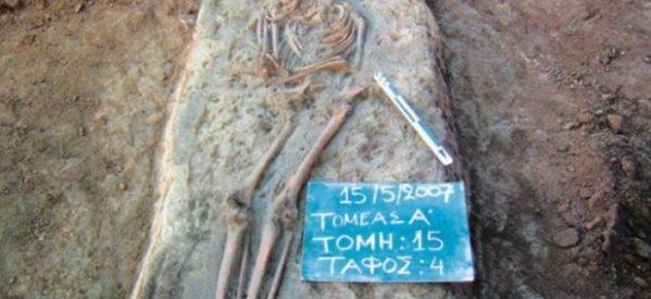Σημαντικός οικισμός της εποχής του χαλκού ανακαλύφθηκε στο Πετρωτό Tρικάλων