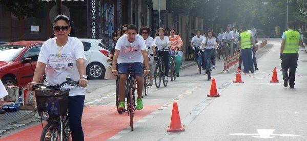 Τρίκαλα – H προειδοποίηση μετατρέπεται σε εφαρμογή του νόμου – Κλήσεις από τη Δευτέρα στο νέο ποδηλατόδρομο