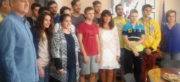 Στην Περιφερειακή Διευθύντρια Εκπαίδευσης η Ομάδα Ρομποτικής του 7ου ΓΕΛ