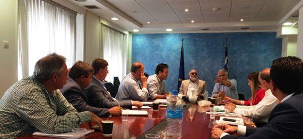 Σύσκεψη στο Υπουργείο Εσωτερικών για δίκαιες και έγκαιρες αποζημιώσεις στους πληγέντες από τις  πλημμύρες