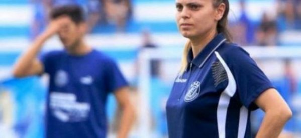 Top Woman η Ανθούλα Σαββίδου: Η πρώτη γυναίκα προπονητής σε ανδρική ομάδα στο ελληνικό ποδόσφαιρο