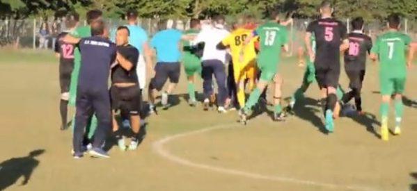 Τρίκαλα – Άγριο ξύλο μεταξύ ποδοσφαιριστών    ΒΙΝΤΕΟ