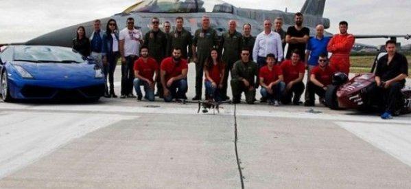 Made in Greece το «Θηρεύς», το αγωνιστικό μονοθέσιο των φοιτητών του Παν. Θεσσαλίας: Τα «έβαλε» με ένα F-16 και μια Lamborghini!
