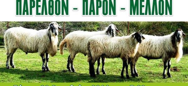 «Καραγκούνικο πρόβατο: Παρελθόν- παρόν- μέλλον»