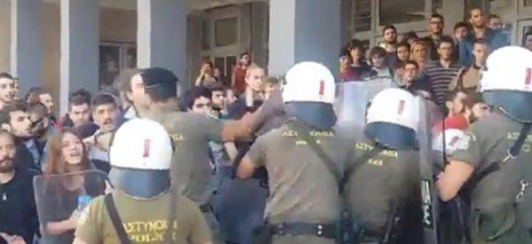 Το πιο εντυπωσιακό βίντεο των  διαδηλώσεων στην Αθήνα