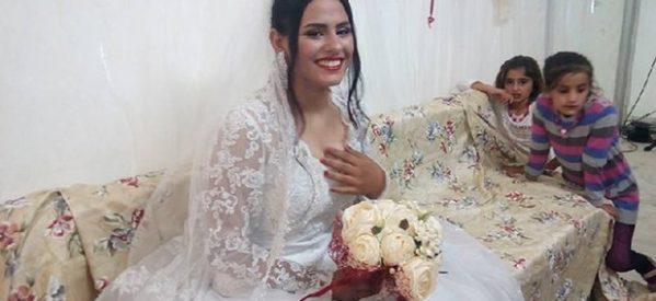 Γάμος προσφύγων σε σκηνή στο Κυψελοχώρι (ΕΙΚΟΝΕΣ)