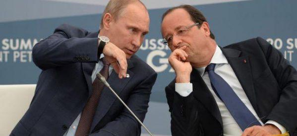 «Βόμβα» από Πούτιν αποκάλυψε ο Ολάντ: «Μου είπε ότι η Ελλάδα του ζήτησε να τυπώσει δραχμές στη Ρωσία»