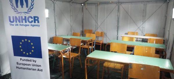 Eπισκέψεις….. στο hot spot των προσφύγων στα Τρίκαλα