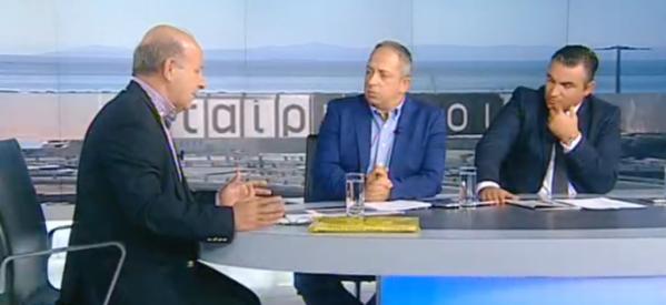 Σιμορέλης στην τηλεόραση του ΣΚΑΙ  : Τέρμα στο «τρίγωνο της διαπλοκής»