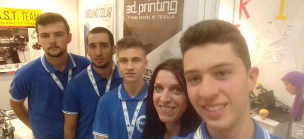 Συγχαρητήρια , σπουδαία επιτυχία – Το 7ο ΓΕΛ Τρικάλων 8ο στην Ολυμπιάδα Ρομποτικής!!!