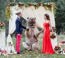 Παντρεύτηκαν με κουμπάρο μια… αρκούδα
