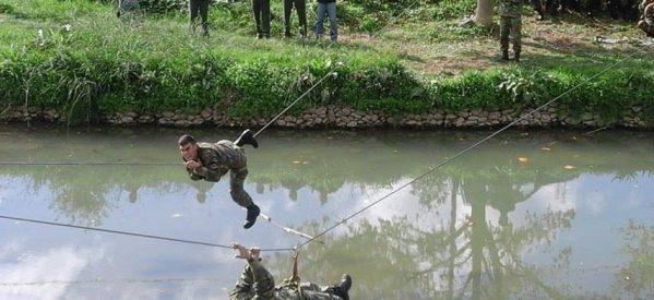 «Αβρόχοις ποσίν» οι μαθητές της ΣΜΥ στον Ληθαίο ποταμό