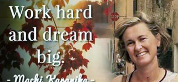 Tρικαλινής καταγωγής η Ανδρομάχη Καρανίκα,  Καθηγήτρια Κλασικών σπουδών στο Πανεπιστήμιο της Καλιφόρνια και τα όσα όμορφα διδάσκει για την αξία της Μυθολογίας…