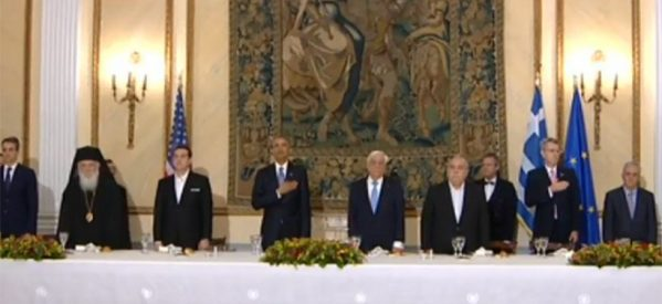 Παυλόπουλος: Μη λησμονάτε τη χώρα μου – Ομπάμα: Θα μας έχετε πάντα συμμάχους
