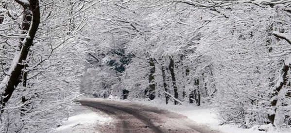 Έπεσαν τα πρώτα χιόνια στον νομό Τρικάλων