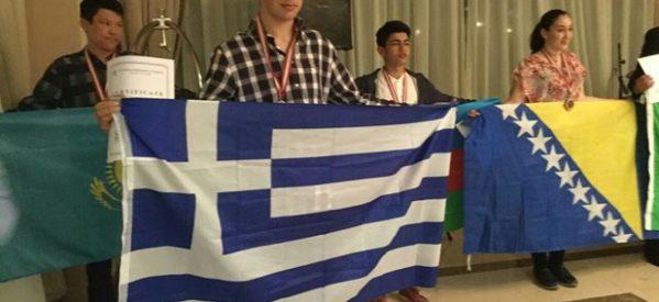 Ασημένιο μετάλλιο στην Μαθηματική Ολυμπιάδα ο Δημήτρης Λώλας