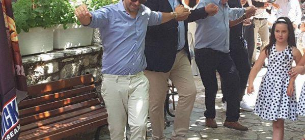 Γλεντούν οι Γαρδικιώτες της Αθήνας