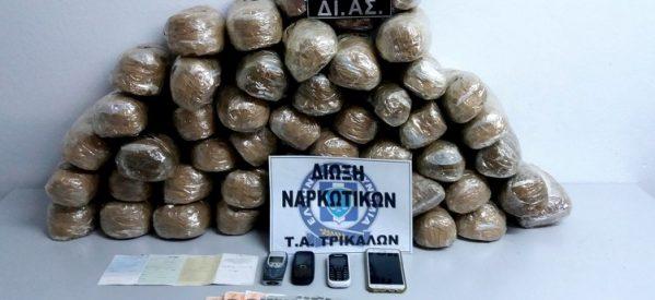 Εξιχνιάστηκαν δεκάδες υποθέσεις ναρκωτικών τον Δεκέμβριο στη Θεσσαλία