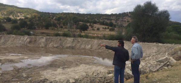 Νέα λιμνοδεξαμενή στα Χάσια από την Περιφερειακή Ενότητα Τρικάλων