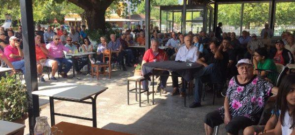 ΦΥΣΑΕΙ ΚΟΝΤΡΑ : Οι πολίτες του Βαλτινού στην πρώτη γραμμή του αγώνα, την ώρα που οι βουλευτές του ΣΥΡΙΖΑ Τρικάλων κρύβονται