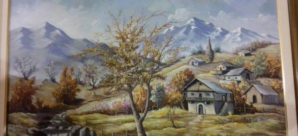 Έκθεση ζωγραφικής του Βασίλη Πέρκα