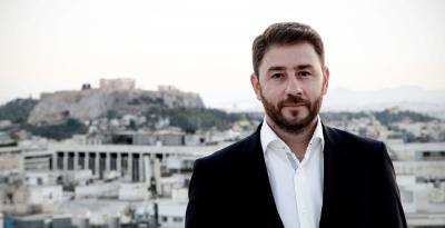 Στα Τρίκαλα ο Νίκος Ανδρουλάκης