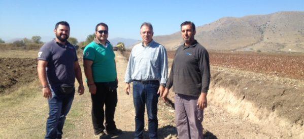 Π.Ε Τρικάλων : αντιπλημμυρικά έργα στην Τοπική Κοινότητα Ζάρκου του Δήμου Φαρκαδόνας