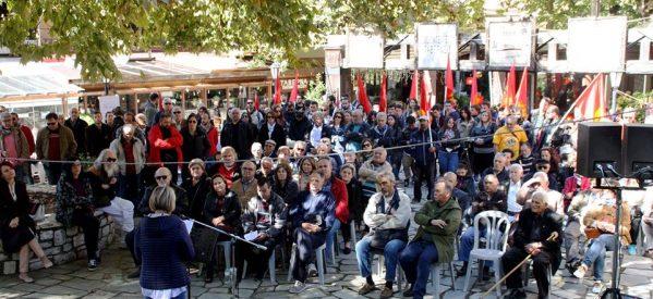 Τρίκαλα – Το ΚΚΕ  τίμησε την «κόκκινη δασκάλα», την αγωνίστρια της Αντίστασης, τη «Ρόζα της επανάστασης»