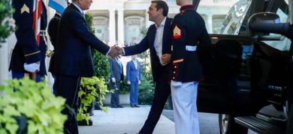 Στον Λευκό Οίκο ο Αλέξης Τσίπρας