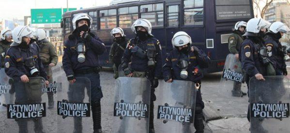 Δρακόντεια μέτρα ασφαλείας στα Τρίκαλα με εκατοντάδες αστυνομικούς και ΜΑΤ λόγω της επίσκεψης Μιχαλολιάκου