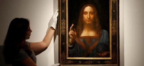 Πορτρέτο του Ιησού δια χειρός ντα Βίντσι πωλήθηκε στην τιμή ρεκόρ των 450,3 εκ. δολαρίων (εικόνες – video)